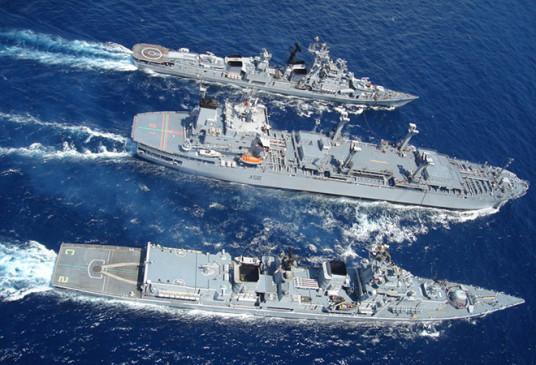 पश्चिमी तट पर अगले सेशन में अभ्यास की तैयारी में जुटी भारतीय नौसेना