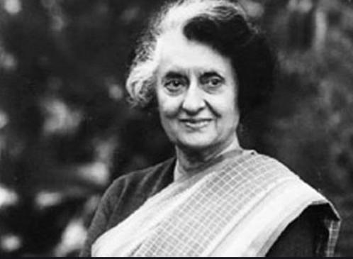 पूर्व प्रधानमंत्री इंदिरा गांधी की पुण्यतिथि आज, मोदी,सोनिया सहित कई नेताओं ने किया याद