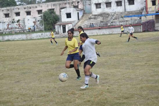 जबलपुर व नर्मदापुरम बालिका फुटबॉल का फाइनल मुकाबला आज