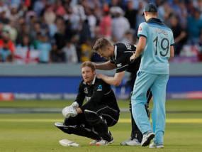 बाउंड्री काउंट नियम को हटाने के बाद ICC पर भड़के नीशम, ट्विटर पर कसा तंज