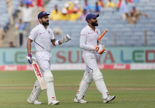 कोहली ने दोहरे शतक के साथ पूरे किए 7000 टेस्ट रन, बनाए कई बड़े रिकॉर्ड