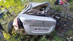 मध्य प्रदेश: नेशनल हाईवे-69 पर बड़ा हादसा, राष्ट्रीय स्तर के 4 हॉकी खिलाड़ियों की मौत