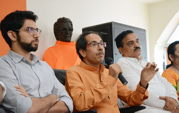 महाराष्ट्र चुनाव : उद्धव ठाकरे का वचन, ''शिवसैनिक'' ही होगा अगला मुख्यमंत्री