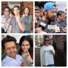 महाराष्ट्र विधानसभा चुनाव: सलमान, शाहरुख, आमिर, सचिन, दीपिका समेत यह सेलेब्रिटी वोट डालने पहुंचे