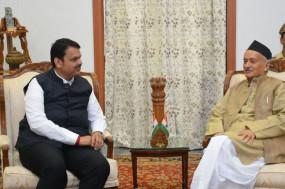 महाराष्ट्र में सीएम पद का झगड़ा, राज्यपाल से अलग-अलग मिले बीजेपी-शिवसेना नेता