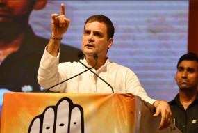 महाराष्ट्र: धारावी में फिसली राहुल की जुबान बोले- 70 साल में कुछ नहीं हुआ !