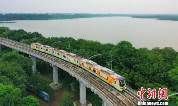 चीन में तैयार मेट्रो भारत में संचालित