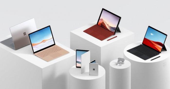 Microsoft ने लॉन्च किया फोल्डेल फोन Surface Duo और Earbuds