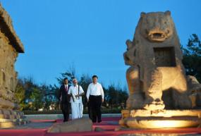 मोदी, जिनपिंग ने शोर मंदिर का भ्रमण किया