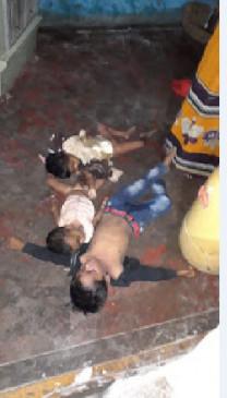 तीन मासूम बच्चों को फांसी देकर खुद फंदे पर झूल गई मां