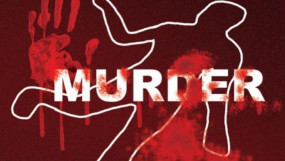 सिर पर पत्थर पटककर युवक की हत्या -वाददात के पहले पी थी शराब