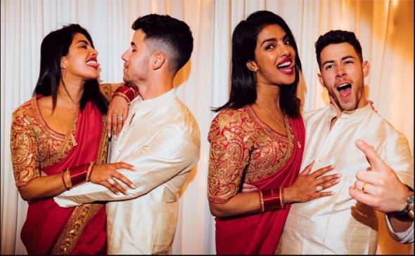 प्रियंका के करवाचौथ व्रत को देखकर बोले निक- मेरी बीवी भारतीय है...