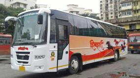 शिवशाही बस में यात्री नहीं कर पा रहे मोबाइल चार्ज
