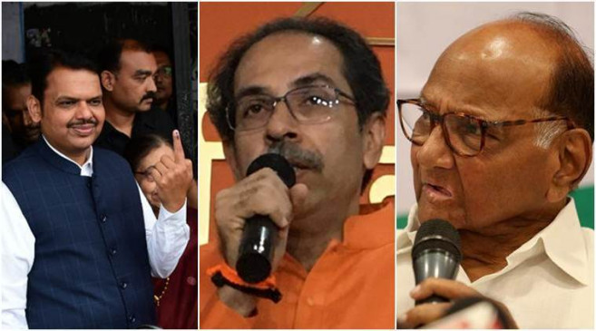महाराष्ट्र में बीजेपी का ही होगा सीएम, दीपावली बाद सरकार बनाने का दावा, पवार ने दोहराया विपक्ष में बैठेंगे