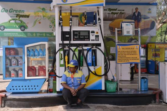पेट्रोल, डीजल के दाम स्थिर, कच्चे तेल में तेजी