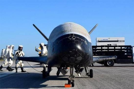 780 दिन के मिशन के बाद धरती पर लौटा पायलेटलेस विमान