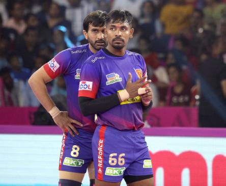 पीकेएल-7 : बाकी बचे 2 मैचों में भी बड़ी जीत चाहेगी दबंग दिल्ली