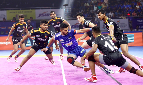 पीकेएल-7 : तेलुगू टाइटंस पर हरियाणा स्टीलर्स की शानदार जीत