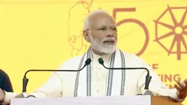 महात्मा गांधी की 150वीं जयंती, पीएम मोदी ने भारत को खुले में शौच मुक्त घोषित किया