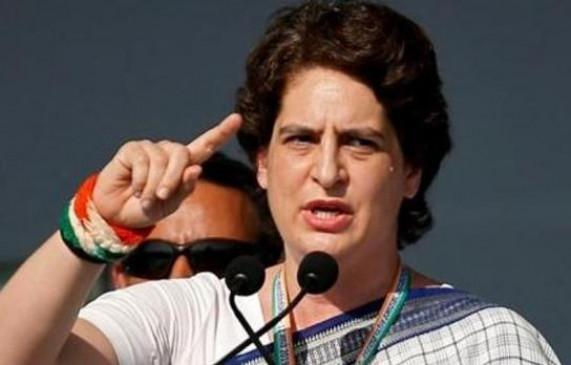 UP सरकार पर प्रियंका का वार, बोली- बहानेबाजी नहीं, कार्रवाई करें