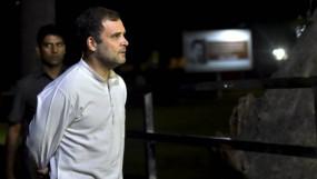 कांग्रेस पदाधिकारियों से मिले राहुल गांधी, टिकटों को लेकर सुनी शिकायत