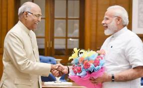 74 साल के हुए राष्ट्रपति कोविंद, पीएम मोदी और शाह ने दी जन्मदिन की बधाई