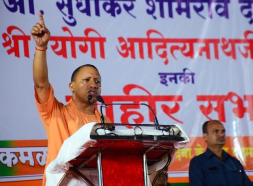 CM योगी का आजम पर निशाना बोले- रामपुर में गरीबों के हक पर डाका डाला गया