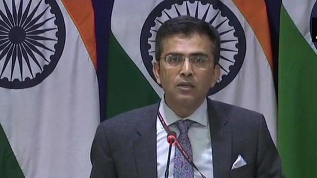 चीनी राष्ट्रपति का कश्मीर पर बयान, भारत ने कहा- आंतरिक मामलों में न दें दखल