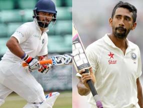 अफ्रीका के खिलाफ पहले टेस्ट के लिए भारतीय टीम घोषित, पंत की जगह साहा को मौका