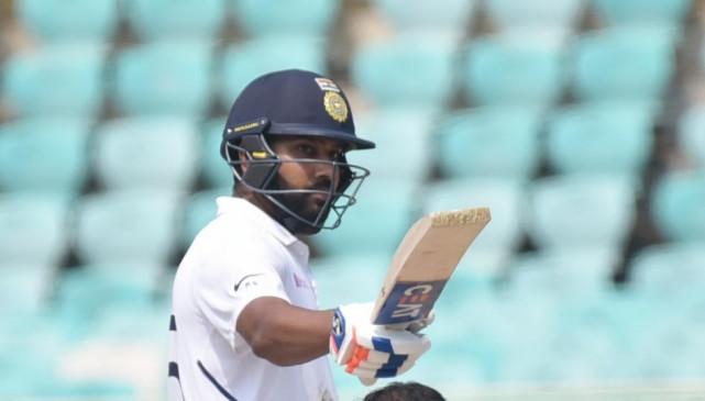 एक टेस्ट में सबसे ज्यादा छक्कों का रिकार्ड रोहित के नाम