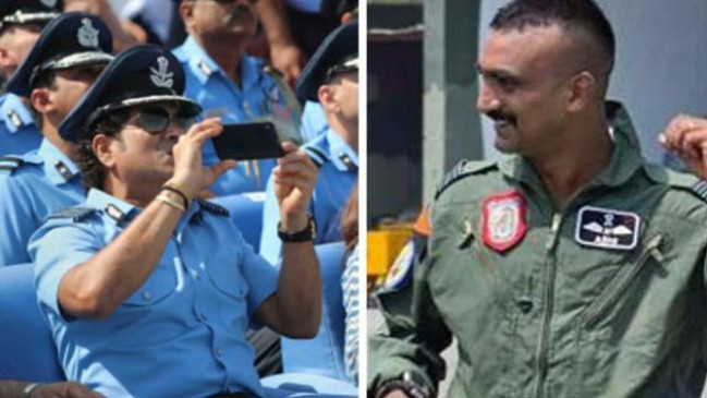 विंग कमांडर अभिनंदन का साहस और जज्बा हमारे लिए प्रेरणा: सचिन