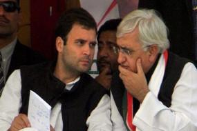 'हमारे नेता हमे छोड़ गए' बयान पर घिरे खुर्शीद, कांग्रेसी नेताओं ने दिया ऐसा जवाब