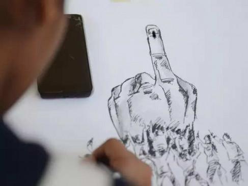 मतदान से पहले जिले में धारा 137 लागू, 89% वोटर स्लिप बांटने का दावा