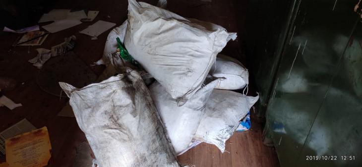 जब्त किया 400 किलो अमानक मावा - इंदौर से लाया जा रहा था