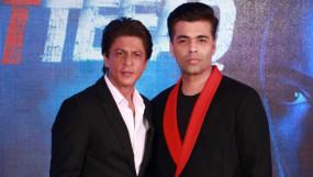 शाहरुख खान ने जैकेट के लिए करण को कहा शुक्रिया