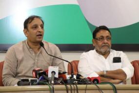 शिवाजी स्मारक मामला : कांग्रेस-राकांपा ने पीडब्लूडी मंत्री पाटील को दी खुली बहस की चुनौती