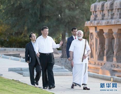 चीन-भारत के नेताओं की दूसरी अनौपचारिक शिखर वार्ता में उल्लेखनीय प्रगति हासिल