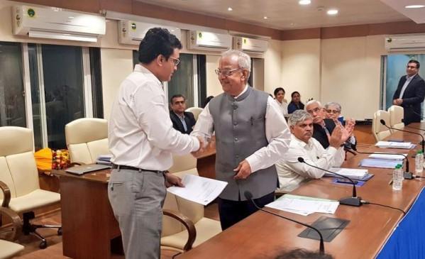 सौरव गांगुली ने BCCI अध्यक्ष पद संभाला, COA प्रमुख विनोद राय ने कहा- मैं बहुत संतुष्ट हूं