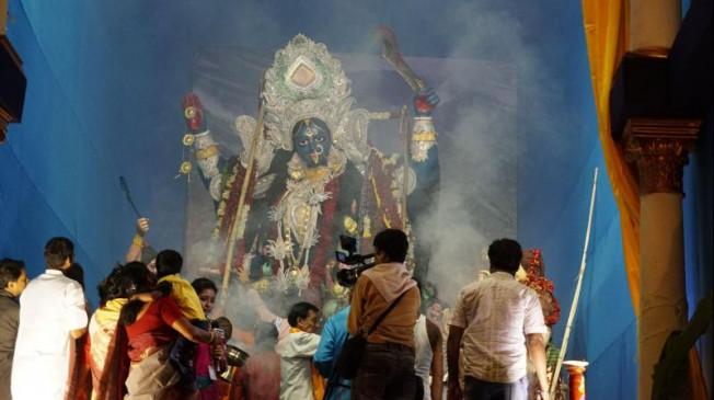 उपराजधानी में श्री काली पूजा महोत्सव शुरु, गीता मंदिर में अन्नकूट दर्शन