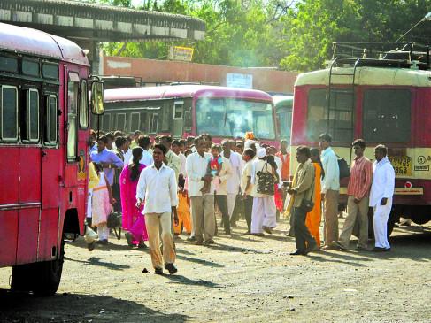 महाराष्ट्र विधानसभा चुनाव:  एसटी की 270 बसें बुक,  8 लाख से ज्यादा की होगी कमाई