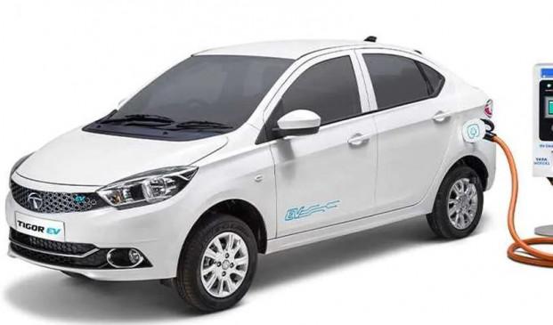 Tata Tigor EV भारत में हुई लॉन्च, सिंगल चार्ज पर चलेगी 213 किलोमीटर