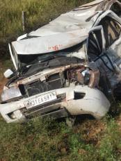 तवेरा और सफारी में सीधी भिड़ंत, 2 की मौत 16 घायल