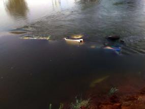 तेलंगाना : नहर में कार के साथ बहे 6 लोगों की तलाश जारी