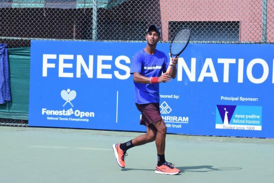 टेनिस : उदित, ध्रुव जूनियर फेनेस्टा ओपन के क्वार्टर फाइनल में