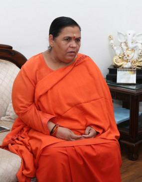 उमा भारती ने गोपाल कांडा के समर्थन पर उठाए सवाल