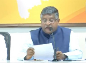 कानून मंत्री रविशंकर बोले- 1 दिन फिल्में कमा 120 करोड़, देश में कहां है मंदी?