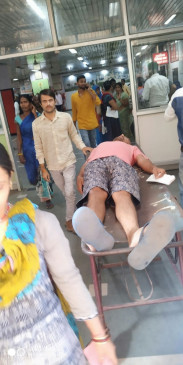 उप्र : सदमे से बीमार दलित शिक्षक केजीएमयू में भर्ती