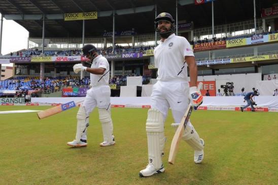 विशाखापट्टनम टेस्ट : रोहित, मयंक ने भारत को बेहतरीन शुरुआत दिलाई