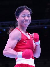 विश्न महिला मुक्केबाजी : मैरी कॉम क्वार्टर फाइनल में
