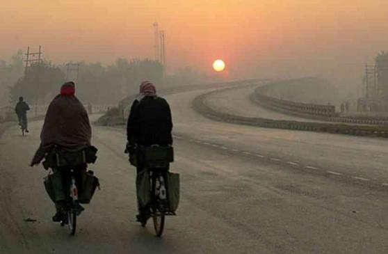 मध्य प्रदेश में मौसम ने ली करवट, गुलाबी ठंड ने दी दस्तक